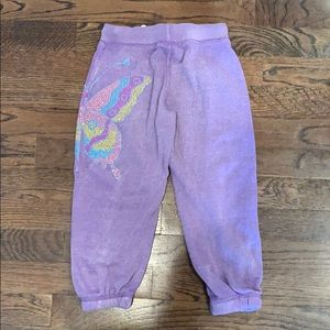 Play Six Bottoms - Softer than Soft, embellished sweatpants! Size 6.